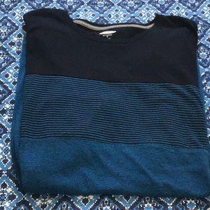 Mens XL casual t shirt, old navy, blue